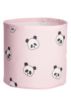 Small storage basket - Light pink/Panda - Home All | H&M CN 1